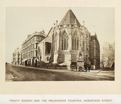Trinity Church And The Waldegrave Fountain, Robertson Street